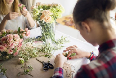 Workshop Floral Design and Art