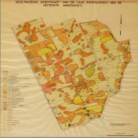 Soil map Wageningen, 1950