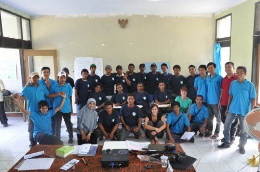 A meeting with fishers from Lombok and the Fishing and Living team