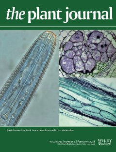 Cover The Plant Journal