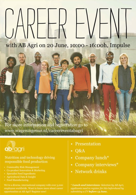 Career Event Agri 20 June 2016