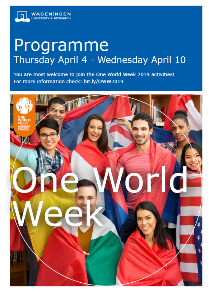 Programme One World Week 2019