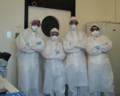 Team Biosafety Level 3-laboratorium (BSL3)