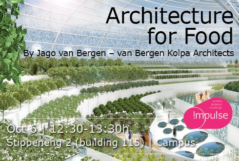 Lunchlecture Architecture for Food