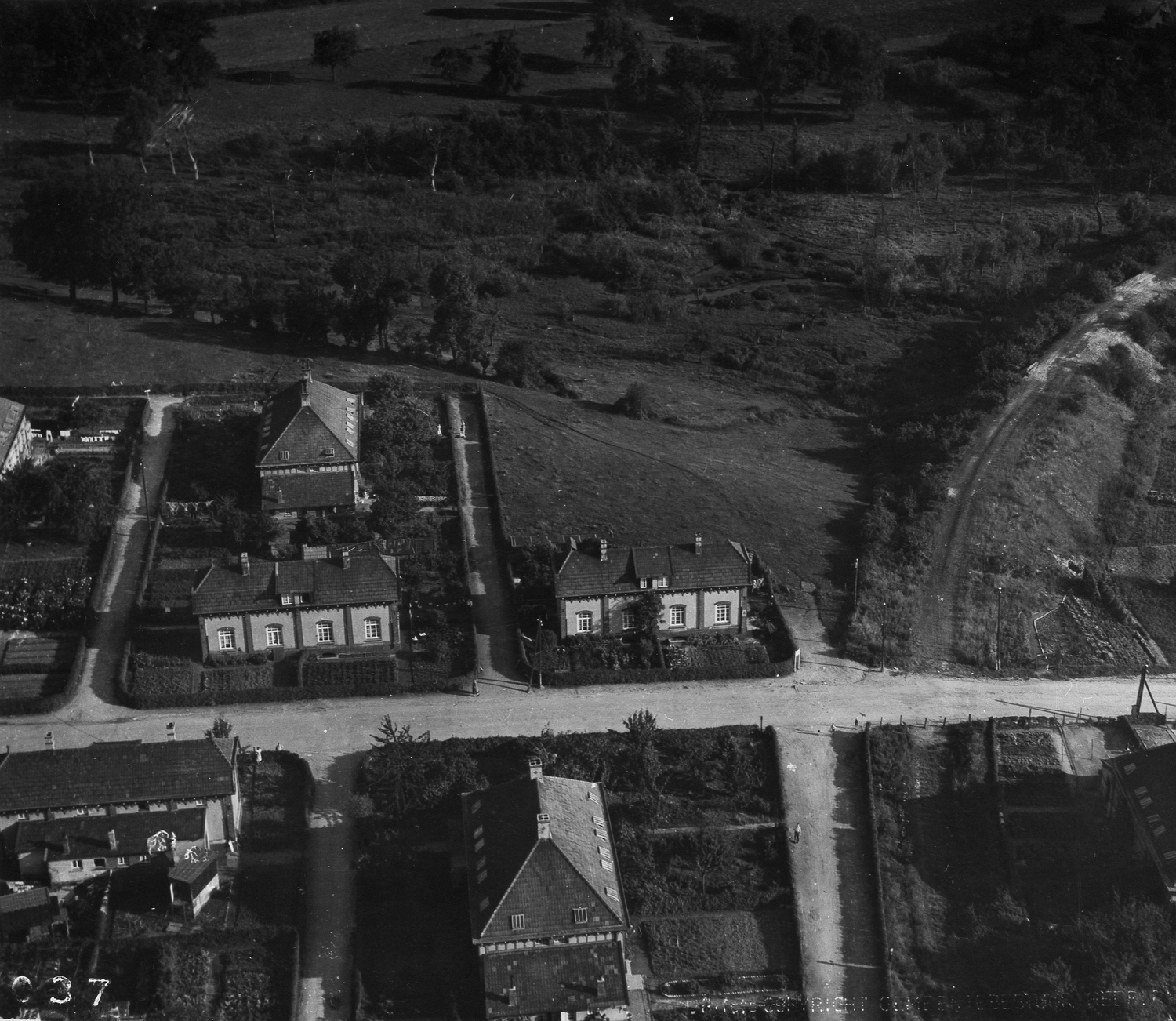 Part of the Beersdal neighbourhood in Heerlen, 1952 (photo: Bos; Rijckheyt, Centre for regional history, Heerlen, no. 4848)