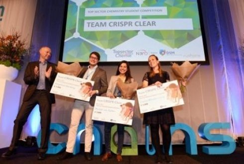 Team CRISPR Clear wins Topsector Chemie Student competition 2017