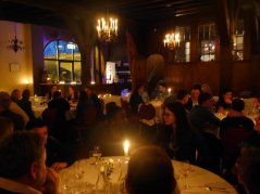 The conference dinner was held in Doorwerth Castle, a restored medieval castle by the Rhine River.