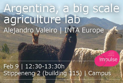 Argentina, a big scale agriculture lab