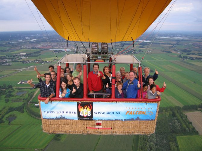Lab outing 2010/Picture: 4cb Ballonvaarten
