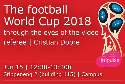 The football World Cup 2018 through the eyes of the video referee