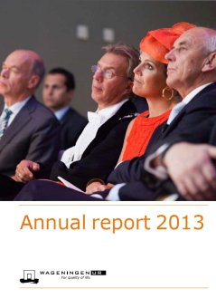 Annual report Wageningen UR 2013