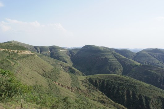 Loess Plateau after restoration