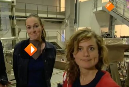 Dr. Jenneke Heising in Dutch TV program Het Klokhuis