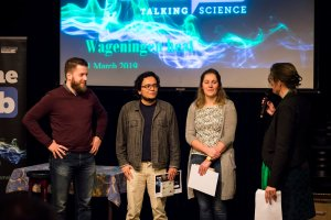 Preliminary Famelab round in Wageningen produces two promising winners