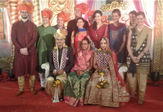 Ento delegates at Sandeeps marriage in Kalamb, Maharasthra, India