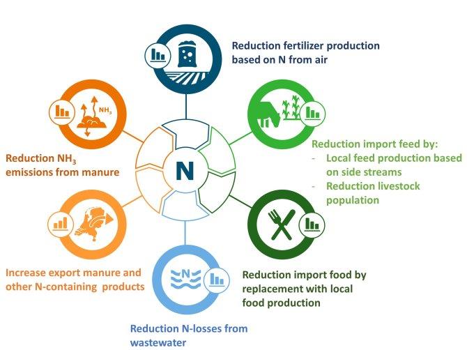 Agricultura circular con nitrógeno en equilibrio