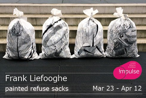 Exposition Painted Refuse Sacks
