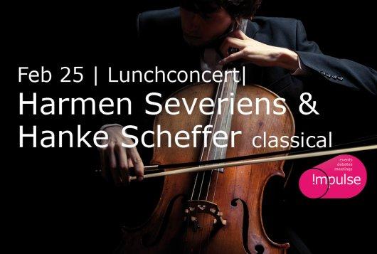 Lunch Concert Harmen Severiens & Hanke Scheffer | Classical music