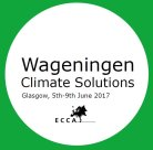 A guide to Wageningen University & Research activities at the 3rd European Climate Change Adaptation (ECCA) Conference