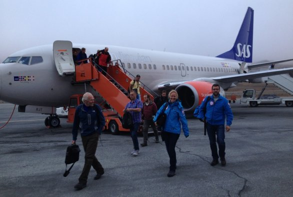 Blog: Expeditie Spitsbergen is van start gegaan