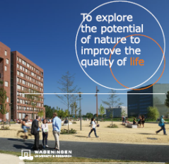 Corporate brochure Wageningen University & Research