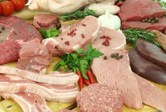 vlees en zuivel