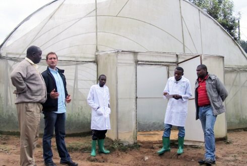 first horticultural training in Rwanda