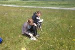 Elmar Veenendaal - 11.55 (Twitter) - Measuring light distribution in a species rich Rhinantus meadow NCP30306 Terschelling #24WageningenUR