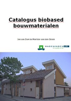 Cover Catalog Biobased Building materials