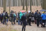 The excursion to Het Loo Crownlands forest started off with a spatter of rain, but the skies cleared soon after.