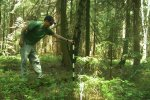 Measuring detection distance of the camera trap
