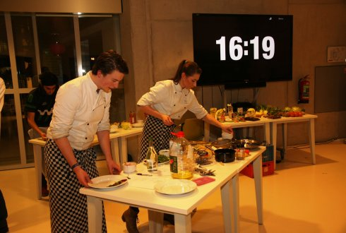 Wageningers verspillen 40% minder in FoodBattle