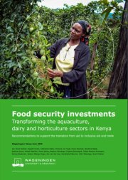Brochure Food security investments