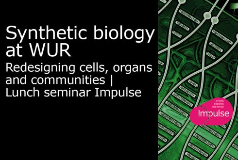 Synthetic biology at WUR: Redesigning cells, organs and communities