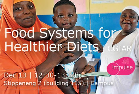 Food Systems for Healthier Diets -CGIAR