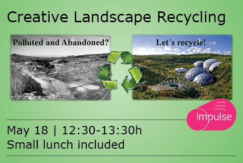 Lunchlecture: exposition Creative Landscape Recycling