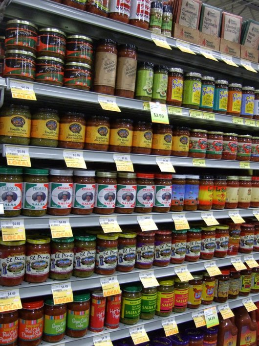 A wide variety of New Mexico-made salsas for sale