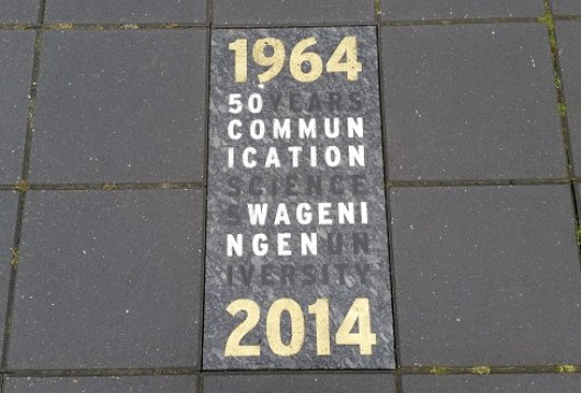 Steen 50 jaar Communication Science Wageningen University