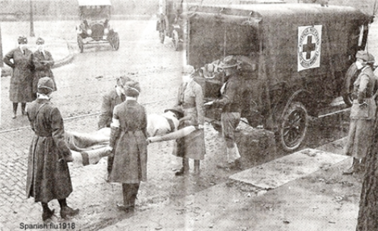 The Spanish flu was a deadly influenza pandemic that lasted from 1918 to 1919