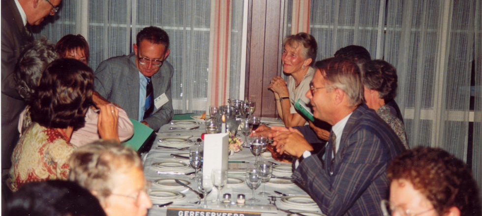 Closing Diner (dhr van Zilfhout, Nol Mulder, Willem Heijbroek of the Organizing Committee)