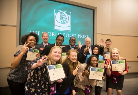 Pupils seek solutions to global food supply problem with new Borlaug Youth Institute
