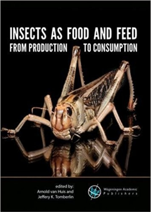 Book and supporting e-learning website with interactive photographs of edible insects