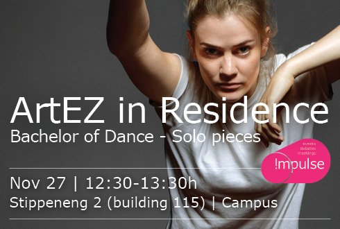 ArtEZ Bachelor of Dance- 27th of November