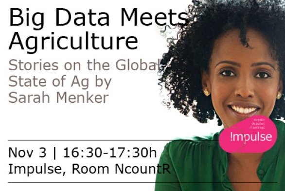 Public Lecture: 'Big Data meets Agriculture'