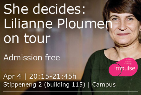 She decides: Lilianne Ploumen on tour